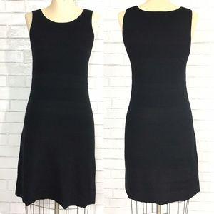 Loft Black Knit sleeveless dress 🍭